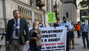 The case for Maryland's unemployed workers to go before judge today