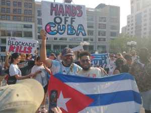 Defending Cuba in New York City