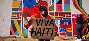 U.S. hands off Haiti! Reparations not intervention!