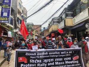 Nepal's people resist U.S. anti-China alliance