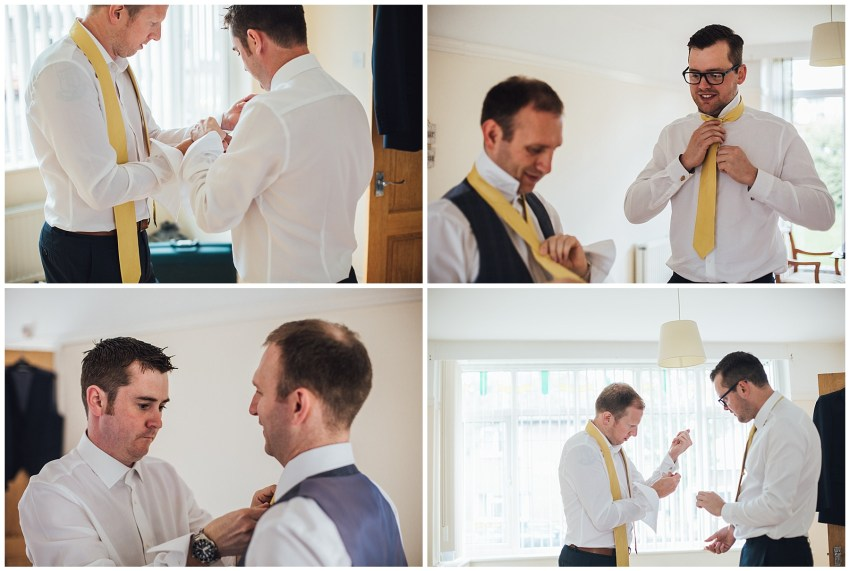 groomsmen preparations
