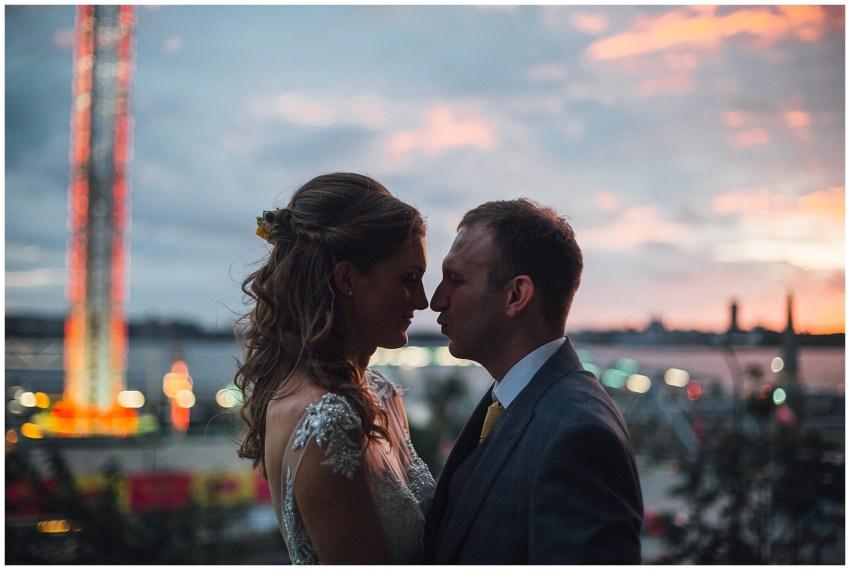 wedding sunset photography