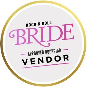 Rock N Roll Bride Logo - Wedding Photography