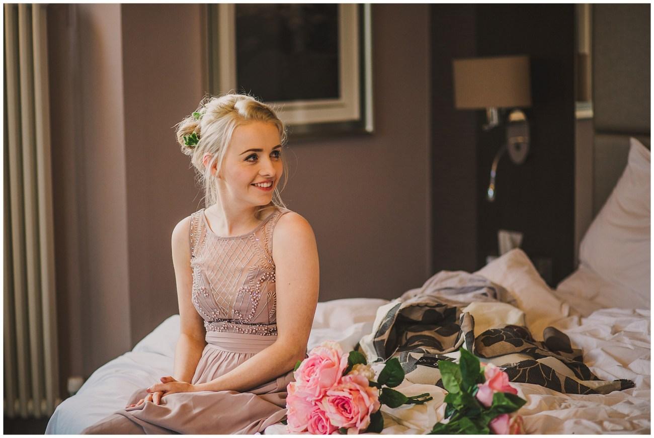 bridesmaid excited