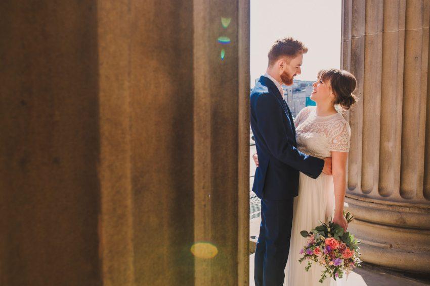 st georges hall wedding pillars