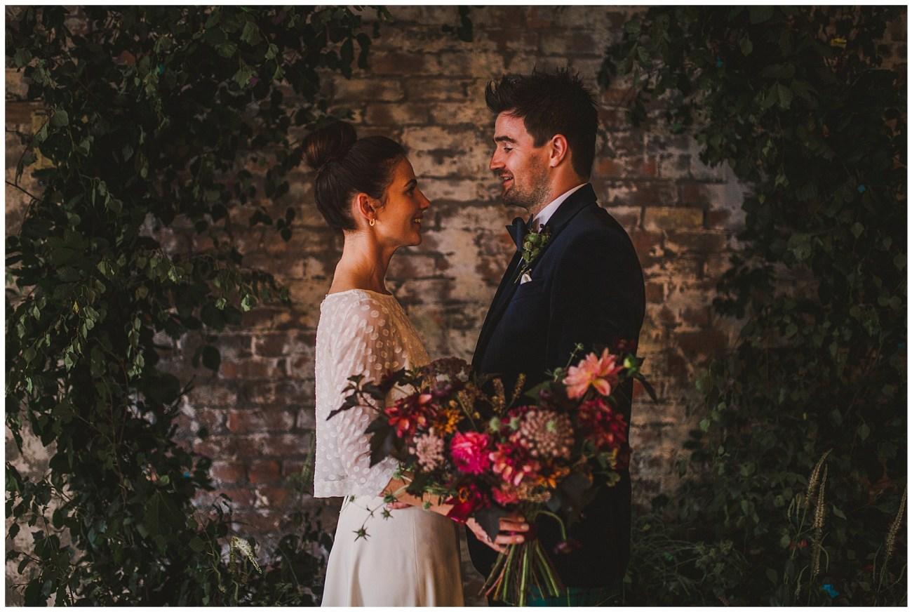 bride and groom wedding portraits scale liverpool wedding