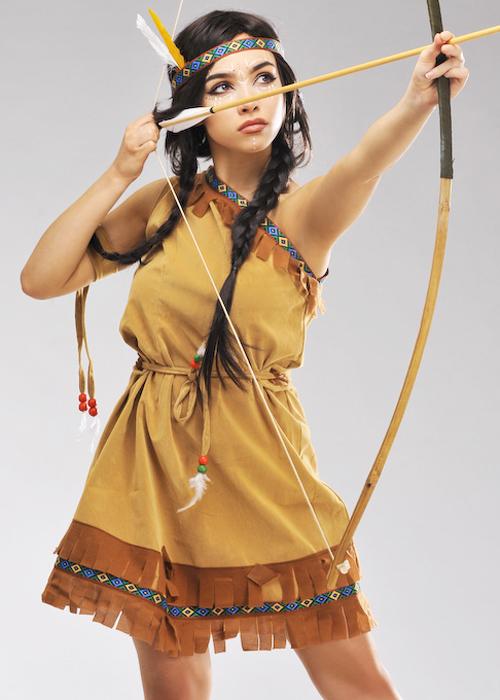 Ladies Petite Indian Squaw Costume