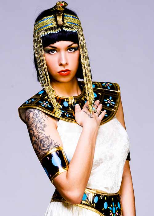 Egyptian Cleopatra Head Piece
