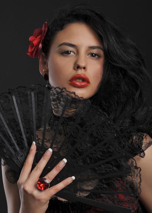 cute mexican woman