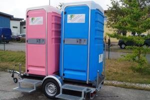 WC-Anhänger, anschlussfrei