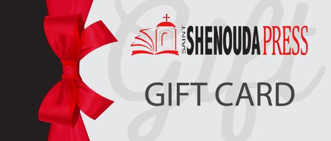 Gift Card | St Shenouda Press