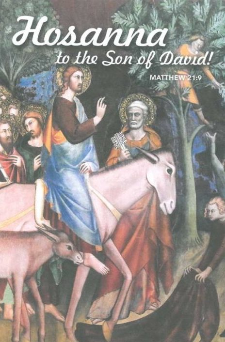 Palm Sunday 2020 Bulletin Cover