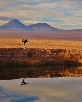 Honorable Mention, Sense of Place: Photo by Natalie Mathias, Atacama Desert, Chile. CIEE Liberal Arts-Santiago, Chile.