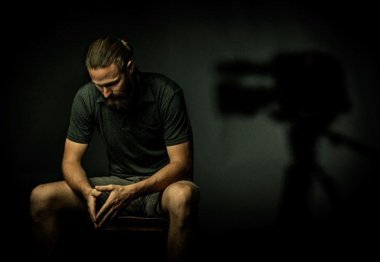 Alum and videographer Chris Hansen documented Frank DeAngelis, principal of Columbine High School.