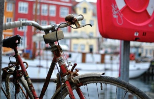 "Third Place, Sense of Place: Allie Martinson, Copenhagen, Denmark. ""Bicycle: Copenhagen is the first bike city in the world. Whether it is a sunny summer day or a snowy winter day you will always find the bike lanes full of Danes biking to work, school or anywhere around the city. The biking culture was one of my favorite parts about studying abroad in Copenhagen. Hopping on my bike every morning and riding to class was always so peaceful. It gave me time to reflect on the city and my time spent there."""