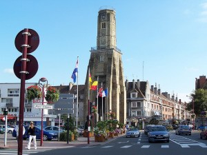 Centre of Calais