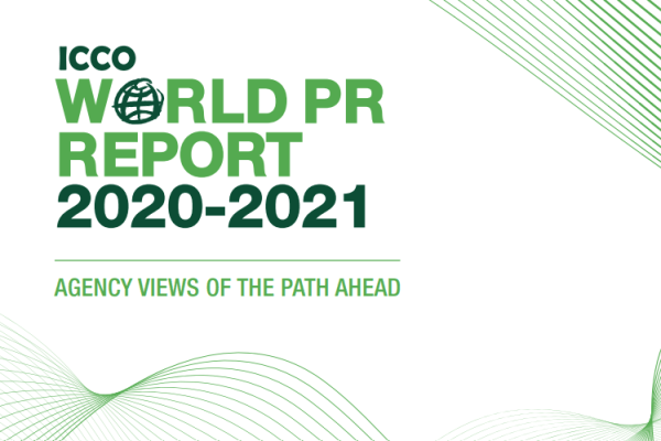 ICCO World PR Report 2020 cover