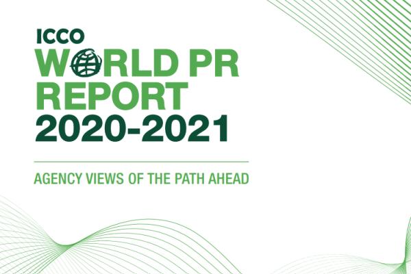 ICCO World PR Report 2020 cover