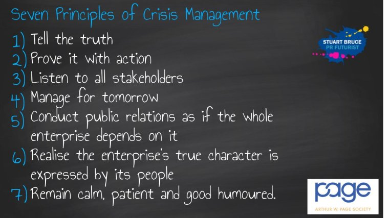 Excellent crisis communications can help turn a crisis into an opportunity 2
