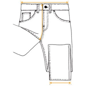 Nudie Jeans  How to Measure your Jeans