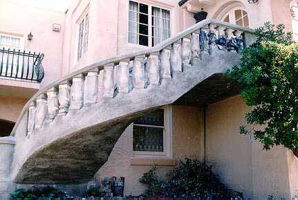 codes for stairs stucco stairs porches rails kirk giordano plastering