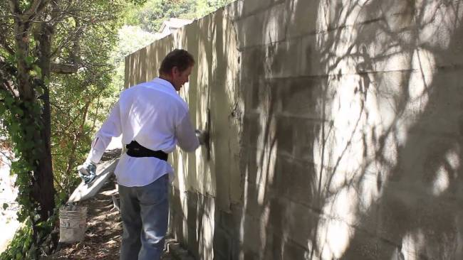Plastering Cinder Block walls