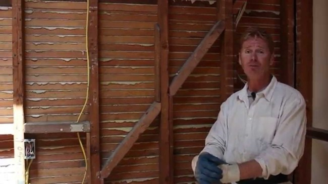 How and why Plaster keys in timber wooden lath