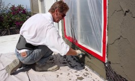 stucco applications by the professionals