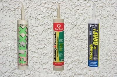 Stucco Crack Repair Sealant