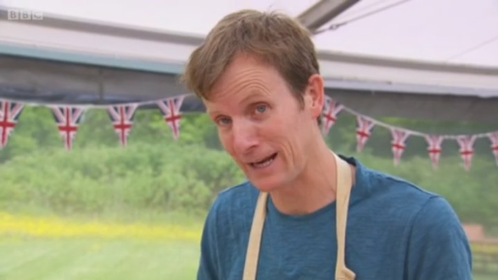 Sadly we don't get a Mary Berry Reaction Face when he says it's called 'Roadkill Pie'.