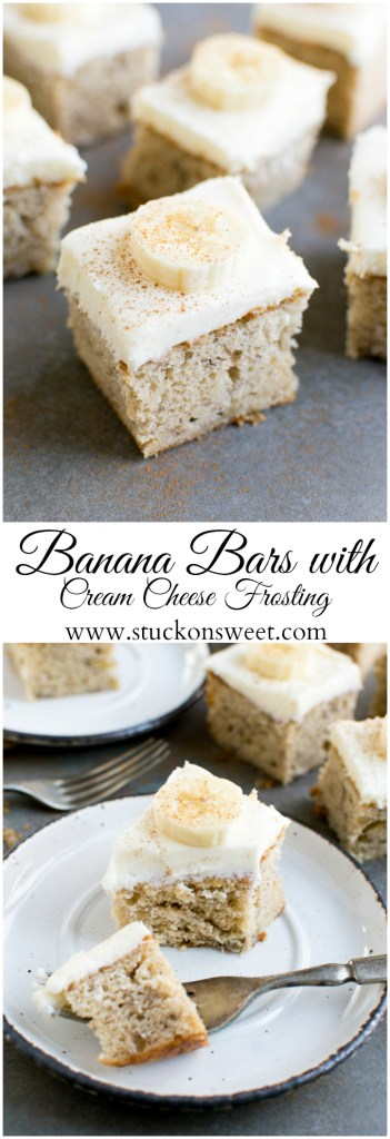 Banana Bars with Cream Cheese Frosting Image