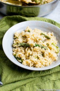 Parmesan and Asparagus Risotto