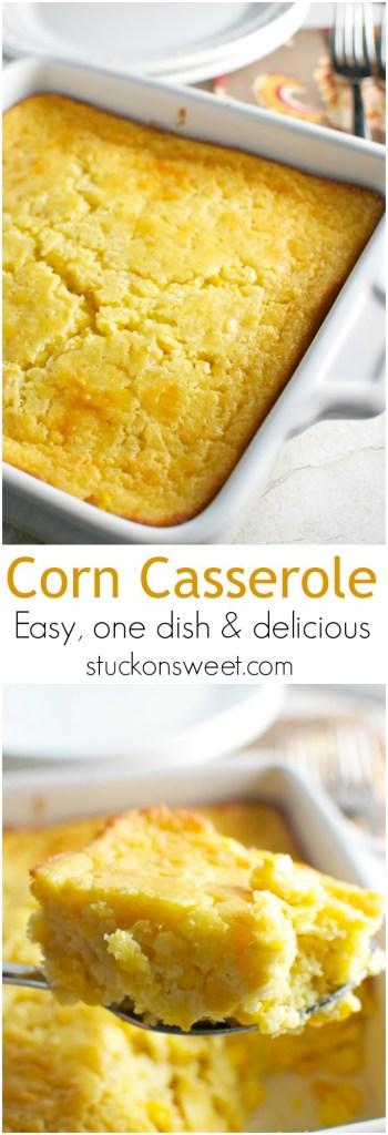 Corn Casserole   stuckonsweet.com