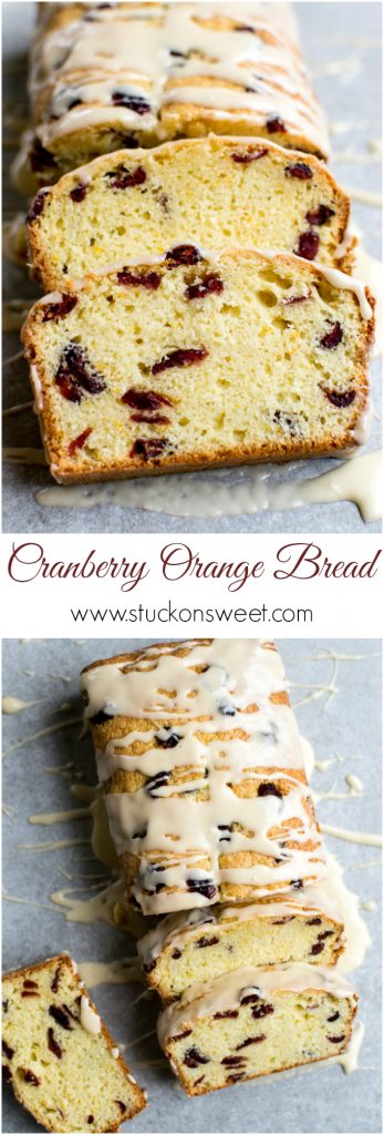 Cranberry Orange Bread | www.stuckonsweet.com
