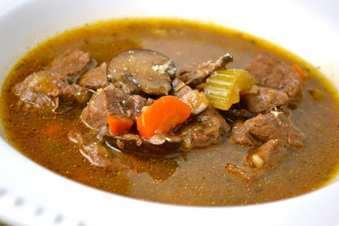 Vegetable Beef Stew | stuckonsweet.com