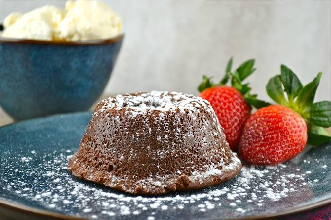Chocolate Lava Cake | stuckonsweet.com