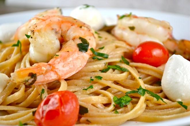 shrimp scampi - stuck on sweet