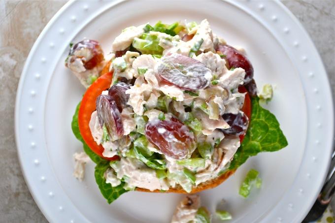 Chicken Salad Sandwich 4