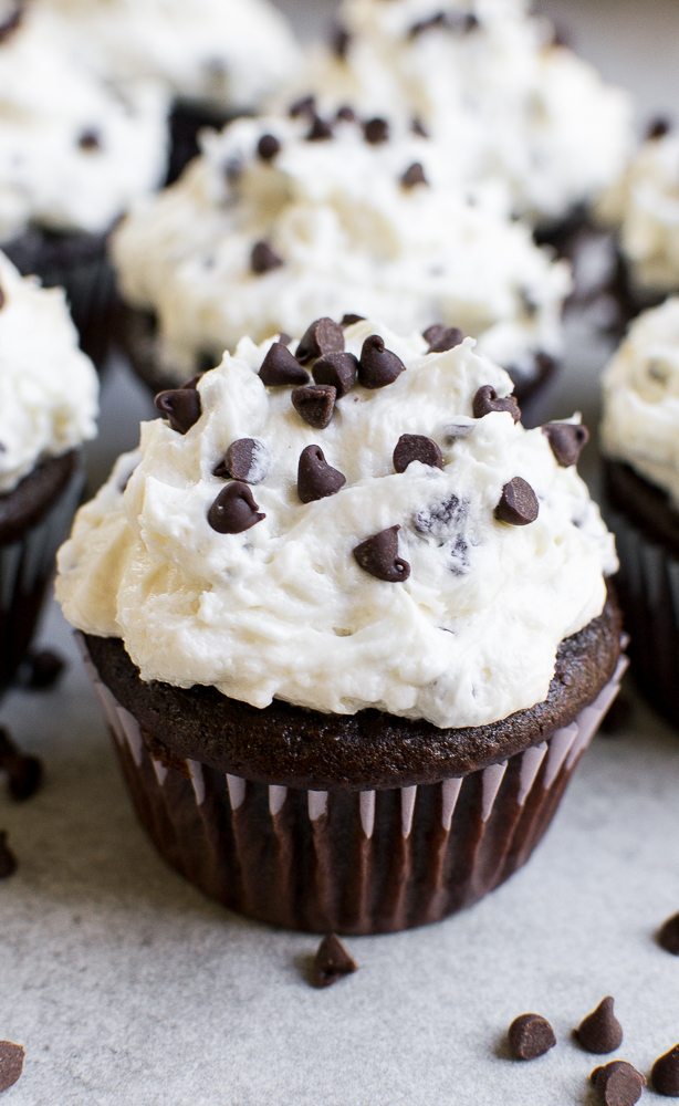 The best chocolate chip cupcakes!
