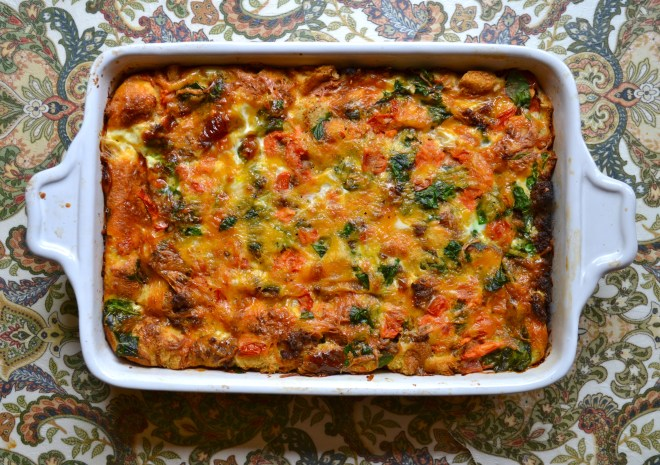 Egg and Sausage Breakfast Casserole 2