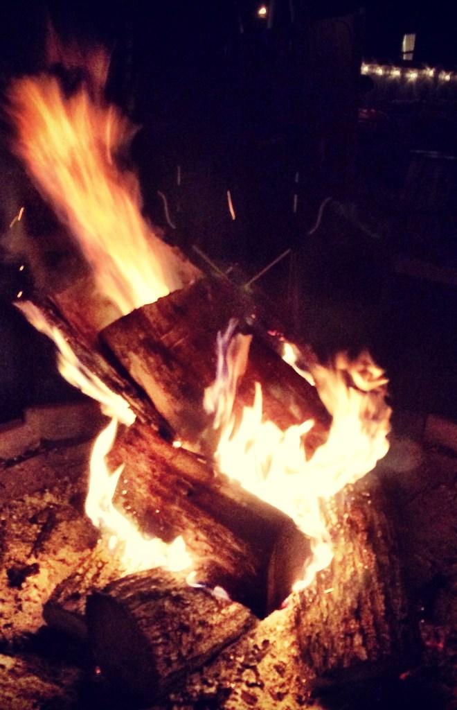 July 4 bonfire