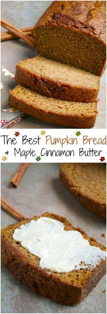 The Best Pumpkin Bread Recipe | stuckonsweet.com
