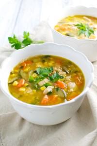 Vegetable Corn Soup