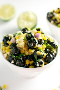 Blueberry Corn Salad