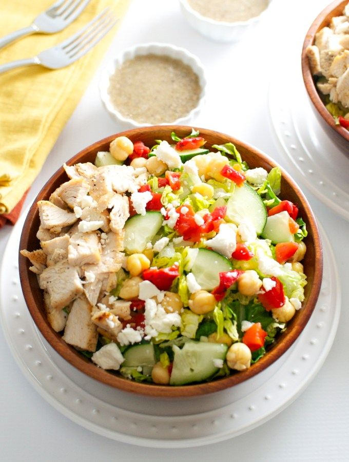 Greek Salad | stuckonsweet.com