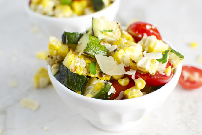 Grilled Corn and Zucchini Salad 4