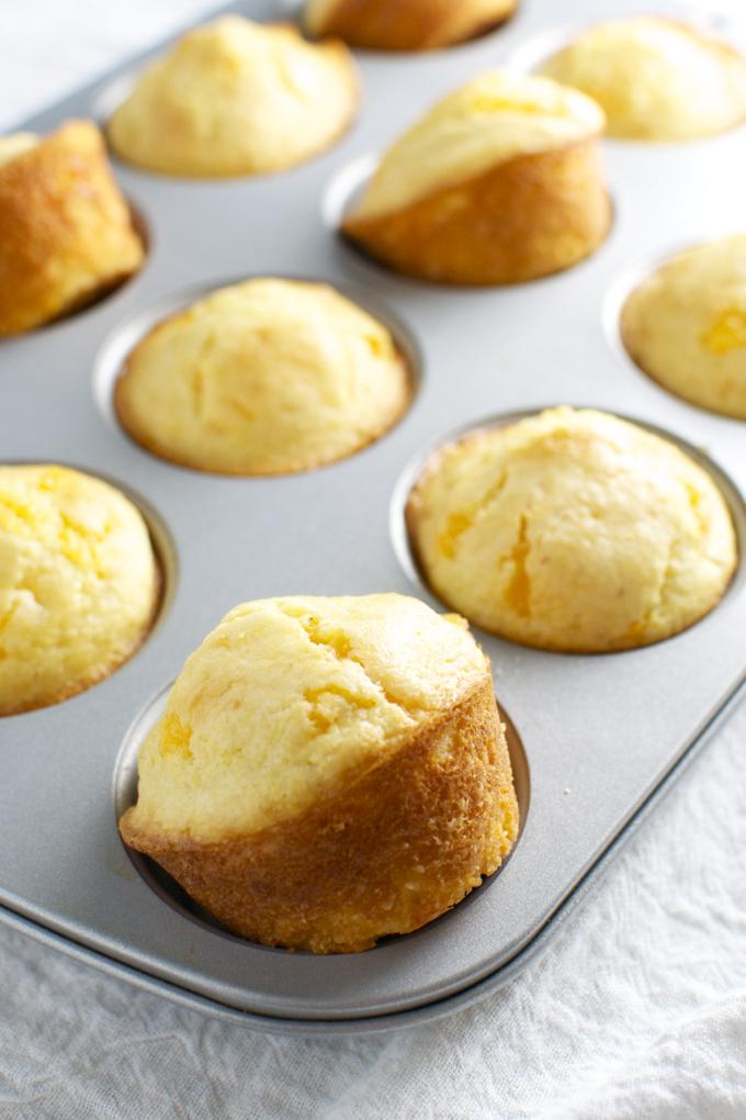 Cheesy Cornbread Muffins 2