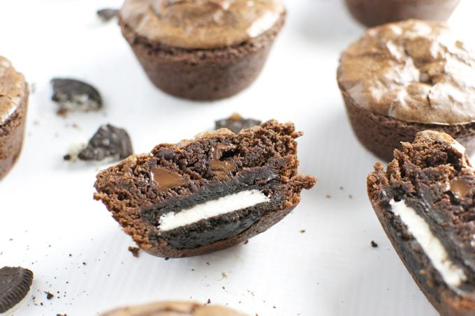 Oreo Brownie Cupcakes 4