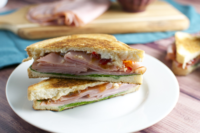 Sweet and Spicy Ham Sandwiches 4