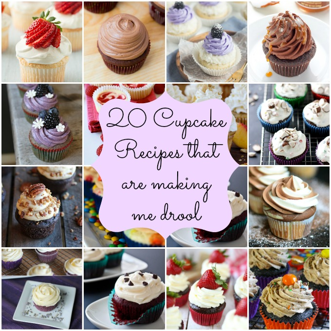 20 cupcake recipes that are making me drool